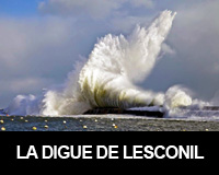 La digue de Lesconil